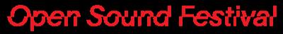 Open Sound Festival Logo